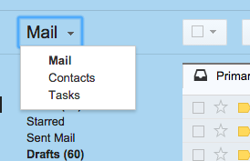 Importing contacts to Gmail